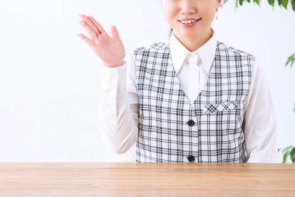 事務の女性10